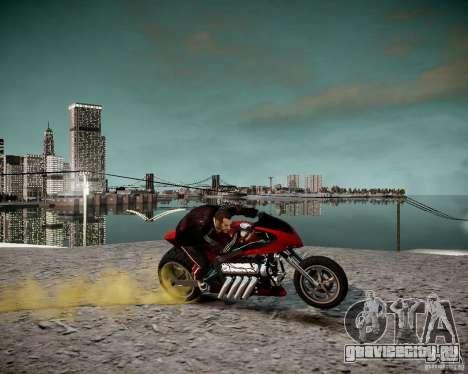 Drag Bike для GTA 4 вид справа