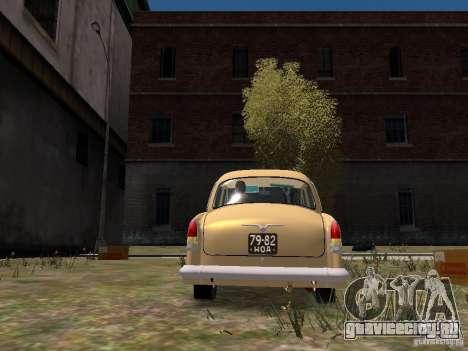 ГАЗ 21Р для GTA 4 вид справа