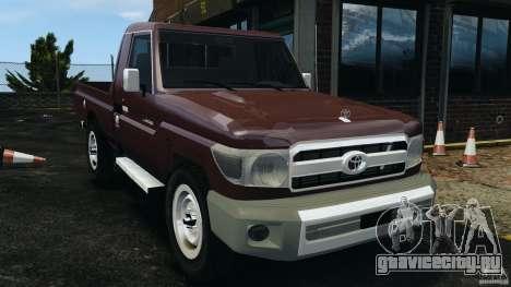 Toyota Land Cruiser Pick-Up 2012 для GTA 4