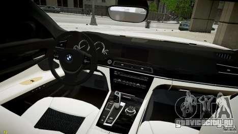 BMW 750Li Sedan ASANTI для GTA 4 вид справа