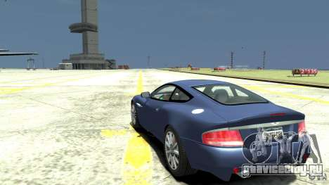 Aston Martin Vanquish S для GTA 4 вид сзади слева