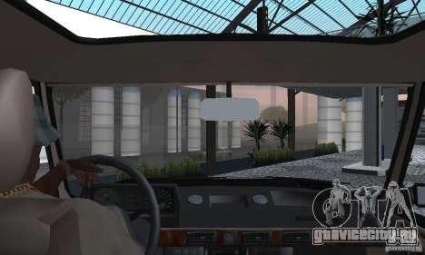 Range Rover County Classic 1990 для GTA San Andreas вид изнутри
