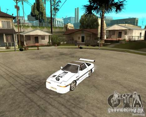Toyota Supra MK3 Tuning для GTA San Andreas вид слева