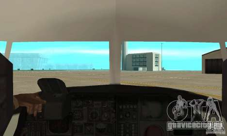 C-2 Greyhound для GTA San Andreas вид справа