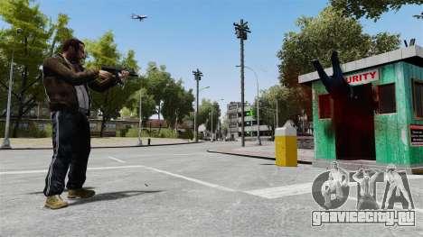 MP5 разрушитель для GTA 4 четвёртый скриншот