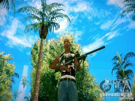 HD пак оружия для GTA San Andreas второй скриншот