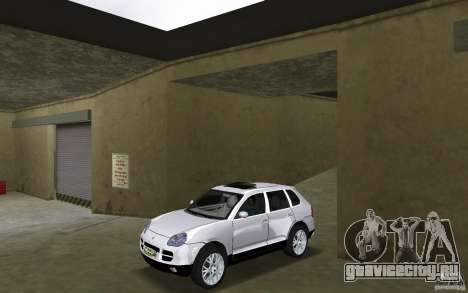 Porsche Cayenne для GTA Vice City