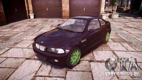 BMW M3 e46 2005 для GTA 4