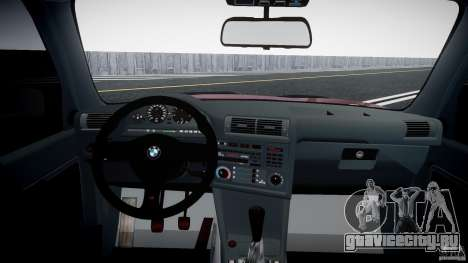 BMW E30 v8 для GTA 4 вид справа