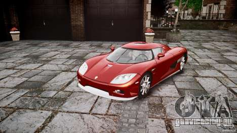 Koenigsegg CCX v1.1 для GTA 4 вид справа