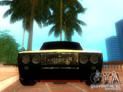 Ваз 2106 dag style для GTA San Andreas вид справа
