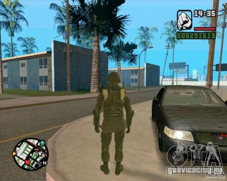 Скин SAS для GTA San Andreas четвёртый скриншот