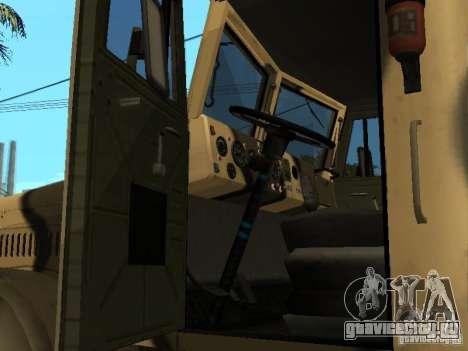 КрАЗ - 255 Б1 v2.0 для GTA San Andreas вид справа