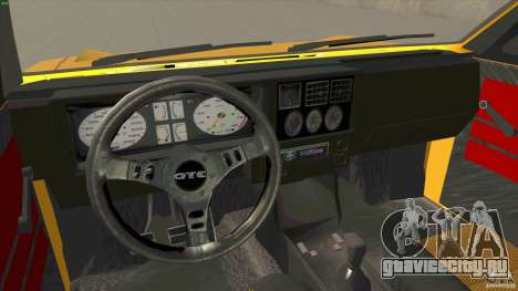 Opel Kadett D GTE Mattig Tuning для GTA San Andreas вид сзади