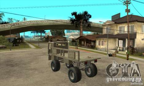 Fast Five Sand King для GTA San Andreas вид сзади слева