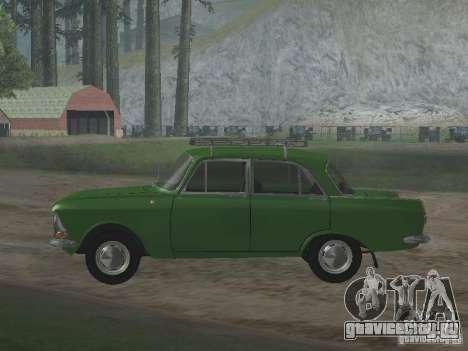 Иж 412 v3.0 для GTA San Andreas вид сзади слева