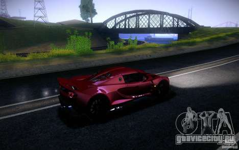 Hennessey Venom GT 2010 V1.0 для GTA San Andreas вид слева