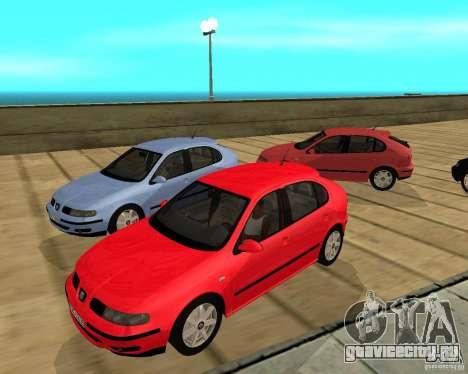 Seat Leon 1.9 TDI для GTA San Andreas