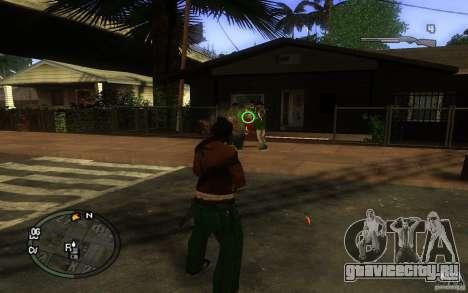 Прицел v1 для GTA San Andreas третий скриншот