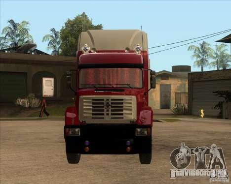 Супер ЗиЛ v.2.0 для GTA San Andreas вид сзади
