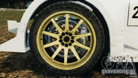 Colin McRae OGIO Rallycross для GTA 4 вид сзади