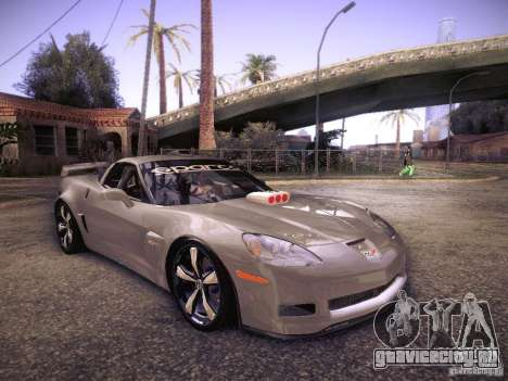 Chevrolet Corvette C6 Z06 Tuning для GTA San Andreas