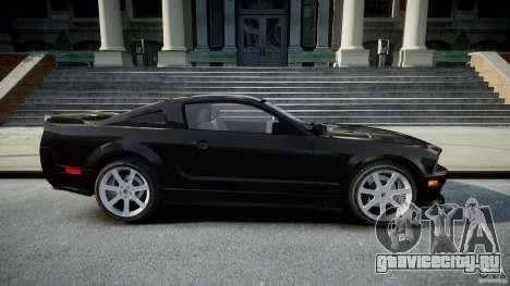 Saleen S281 Extreme Unmarked Police Car - v1.2 для GTA 4 вид изнутри