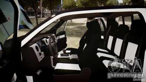 Ford F150 SVT Raptor 2011 UNSC для GTA 4 вид сбоку