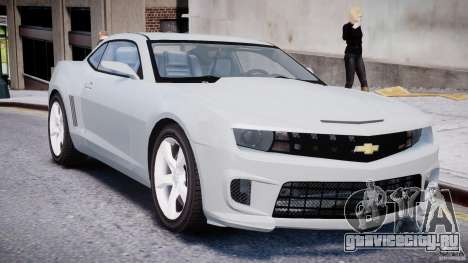Chevrolet Camaro SS 2009 v2.0 для GTA 4 вид слева