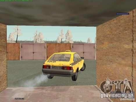 АЗЛК 2141 Москвич Такси v2 для GTA San Andreas двигатель