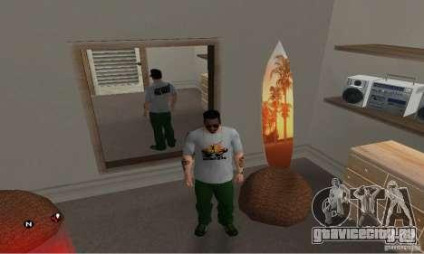 Футболка Green day для GTA San Andreas второй скриншот