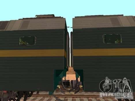 ЧС7 233 для GTA San Andreas вид сзади слева