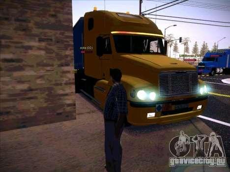 Freightliner Century Classic для GTA San Andreas вид сбоку
