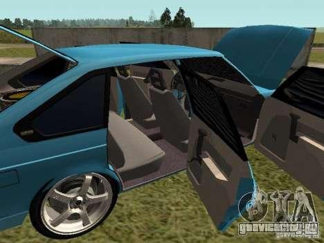 Москвич 2141 для GTA San Andreas вид сверху