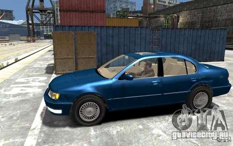 Infiniti I30 A32 Kouki для GTA 4 вид слева