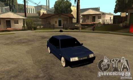 Lada ВАЗ 2108 для GTA San Andreas вид сзади