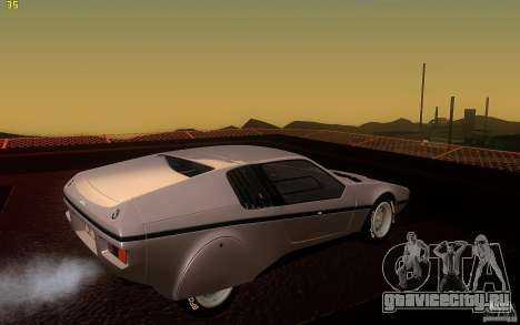 BMW Turbo 1972 для GTA San Andreas вид справа