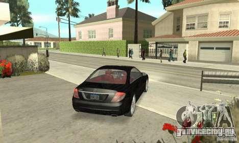 Mercedes-Benz CL500 для GTA San Andreas вид слева