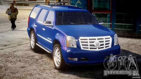 Cadillac Escalade [Beta] для GTA 4 вид изнутри