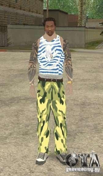 CJ ВДВ для GTA San Andreas второй скриншот