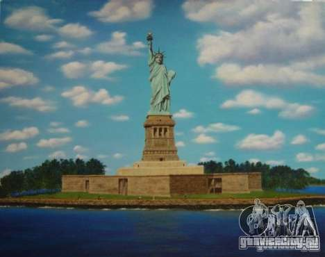 Статуя Свободы для GTA San Andreas третий скриншот