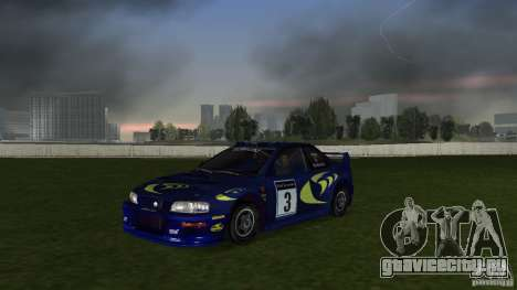 Subaru Impreza 22B Rally Edition для GTA Vice City