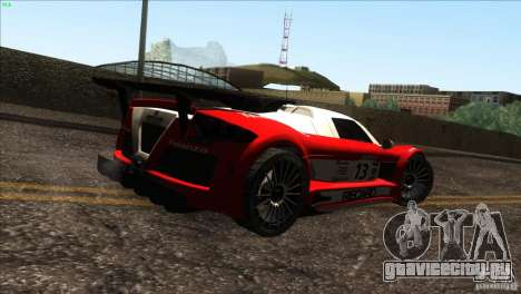 Gumpert Apollo для GTA San Andreas двигатель