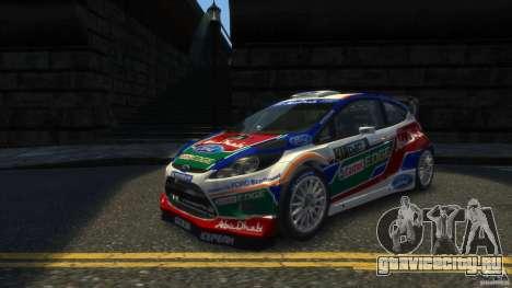 Ford Fiesta RS WRC для GTA 4