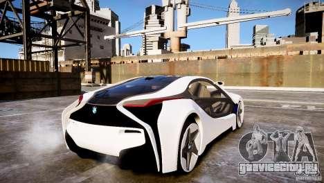 BMW Vision Efficient Dynamics 2012 для GTA 4 вид слева