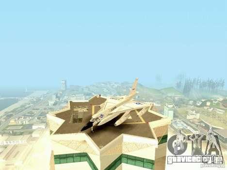 B-58 Hustler для GTA San Andreas вид слева