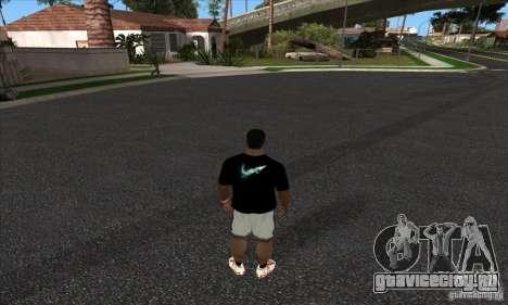 Футболка Nike для GTA San Andreas второй скриншот