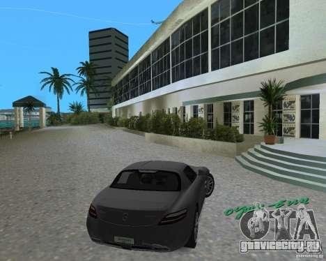 Mercedes Benz SLS AMG для GTA Vice City вид слева