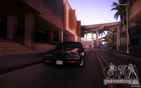 Buick Regal GNX для GTA San Andreas вид сбоку