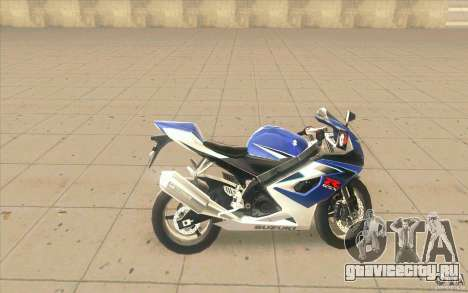 Suzuki GSXR 1000 для GTA San Andreas вид слева